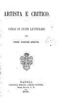 Book Artista E Critico