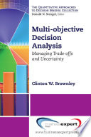 Multi objective Decision Analysis
