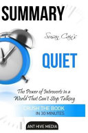 Summary Susan Cain s Quiet