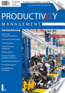 Productivity Management 3/2013 - Standardisierung