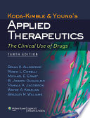 Koda Kimble and Young s Applied Therapeutics