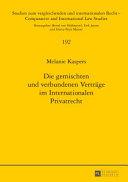 Die Gemischten Und Verbundenen Vertraege Im Internationalen Privatrecht