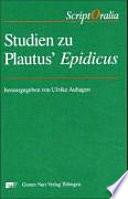 Studien zu Plautus' Epidicus