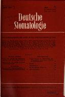 Deutsche Stomatologie