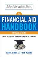 The Financial Aid Handbook  Revised Edition