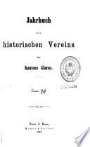 Jahrbuch des Historischen Vereins des Kantons Glarus