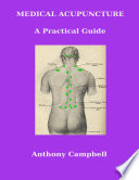 Medical Acupuncture A Practical Guide