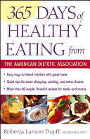 download ebook 365 days of healthy eating from the american dietetic association pdf epub