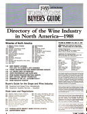 Directory of the Wine Industry in North America