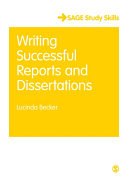 Writing Successful Reports and Dissertations