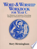 Ebook Word and Worship Workbook for Year C Epub Mary Birmingham Apps Read Mobile