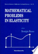 Mathematical Problems In Elasticity book
