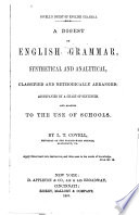 A Digest of English Grammar