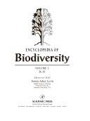 Encyclopedia Of Biodiversity