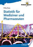Statistik f  r Mediziner und Pharmazeuten
