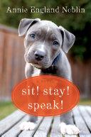 download ebook sit! stay! speak! pdf epub