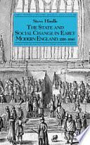 The State and Social Change in Early Modern England  1550   1640