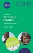 PONS Leicht-lesbar-Wörterbuch Englisch