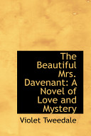 download ebook the beautiful mrs. davenant: a novel of love and mystery pdf epub
