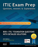 ITIL Exam Prep Questions  Answers  and Explanations  2018 Edition