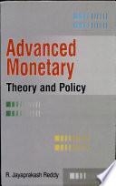 Advanced Monitory Theory & Policies