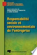 illustration Responsabilité Sociale et Environnementale de L'Entreprise