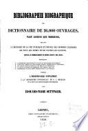 Bibliographie biographique