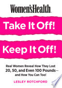 Women S Health Take It Off Keep It Off