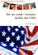 Yes we cook   recettes faciles des USA