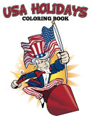 USA Holidays Coloring Book