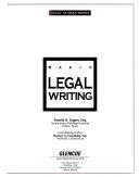 Basic Legal Writing