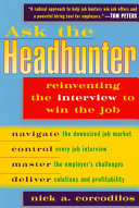 Ask the Headhunter Book PDF