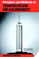 Principles And Methods Of Temperature Measurement