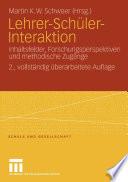 Lehrer-Schüler-Interaktion