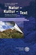 Natur, Kultur, Text