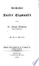 Geschichte Kaiser Sigmund's