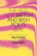 Best New British and Irish Poets 2016