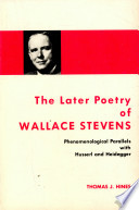 The Later Poetry of Wallace Stevens