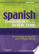 Spanish Terminology for the Dental Team