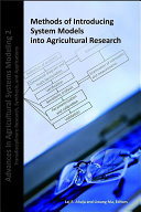 Methods of Introducing System Models Into Agricultural Research