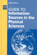 Guide to Information Sources in the Physical Sciences