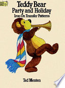 Teddy Bear Party and Holiday Iron On Transfer Patterns