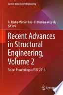 Recent Advances in Structural Engineering  Volume 2