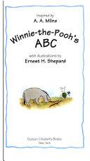 Winnie-the-Pooh's A B C  Winnie The Pooh Tells Time