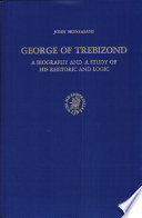 George of Trebizond