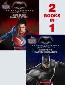 Guide to the Caped Crusader   Guide to the Man of Steel  Movie Flip Book  Batman Vs  Superman  Dawn of Justice