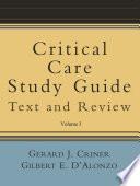 Critical Care Study Guide