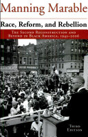 Race, Reform, and Rebellion: The Second Reconstruction in Black America, 19451990, 3rd ed.