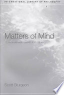 Matters of Mind