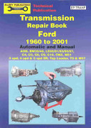 Transmission Repair Book Ford 1960 to 2007